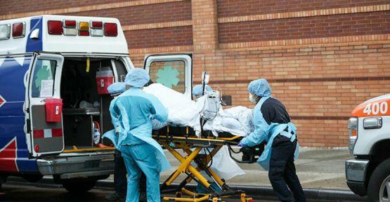 Covid-19 salgını: ABD'de ölü sayısı 45 bini geçti