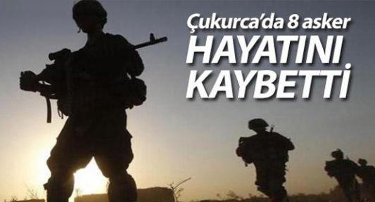 Çukurca'da çatışma: 8 asker hayatını kaybetti
