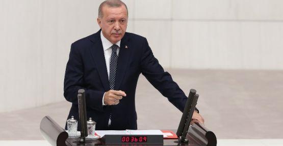 Cumhurbaşkanı Erdoğan Meclis açılışında konuştu