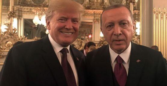 Cumhurbaşkanı Erdoğan, Paris'te Trump ve Putin ile görüştü
