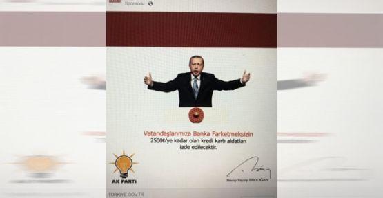 Cumhurbaşkanı Erdoğan'ın 'imzasıyla' dolandırıcılık