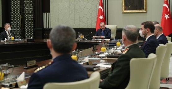 Cumhurbaşkanlığı'ndan MGK sonrası yazılı açıklama