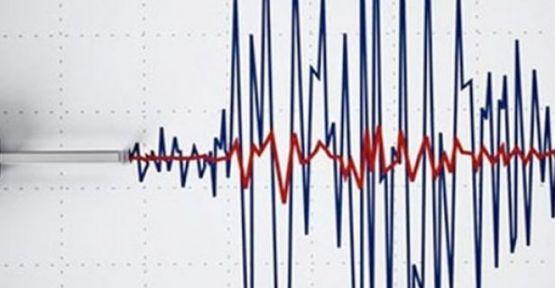 Datça'da 4.9 büyüklüğünde deprem
