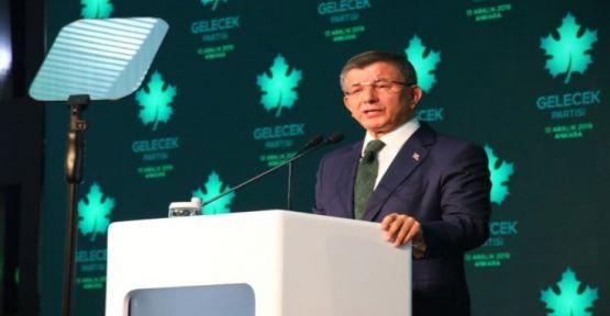 Davutoğlu: Cumhurbaşkanı'nın tabiri beni utandırdı