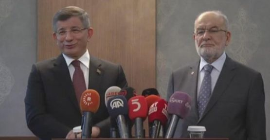 Davutoğlu: Yıl sonuna kadar süreç tamamlanacak