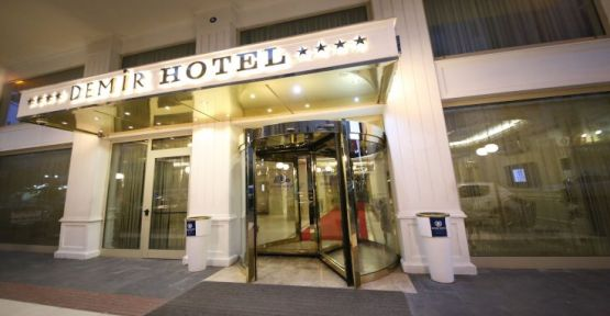 Demir Otel kapılarını sağlık çalışanlarına açtı