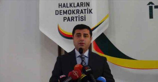Demirtaş: 'Bu bir seçim ittifakı değil, bir mücadele birliğidir'