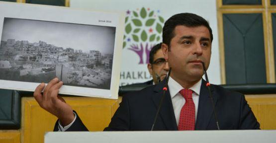 Demirtaş: Dün Guernica'da, Bosna'da yaşanan utanç bugün Şırnak'ta yaşanıyor