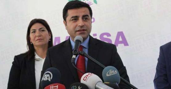 Demirtaş: 'TBMM Başkan adayımız Dengir Mir Mehmet Fırat'