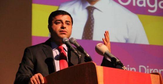 Demirtaş'tan 'HDP binasına polis baskını' açıklaması