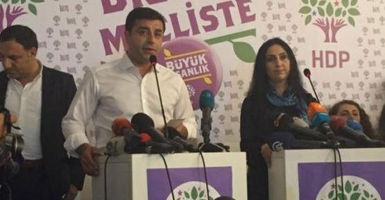 Demirtaş'tan ilk açıklama: 'Türkiye HDP, HDP Türkiye'dir'