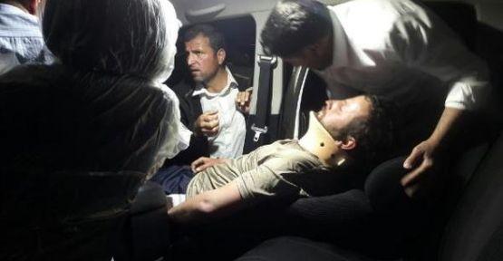 Derecik'te askeri araç kaza yaptı: 1'i ağır 17 güvenlik korucusu yaralandı