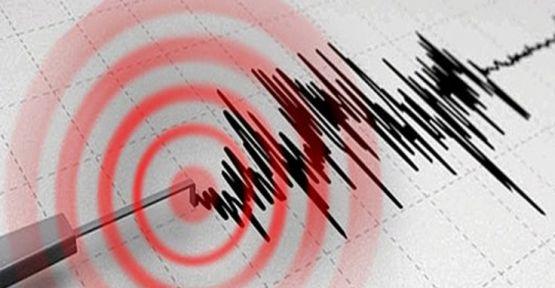 Dersim'de 4,3 büyüklüğünde deprem