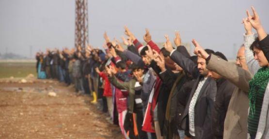 Di roja 171'ê de YPG û YPJ hat silavkirin