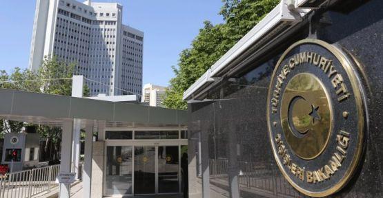 Dışişleri Bakanlığı: Türkiye güvenli bölgeyi hayata geçirmekte kararlıdır