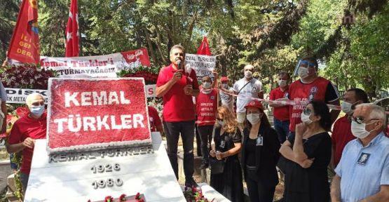 DİSK Kurucusu Kemal Türkler mezarı başında anıldı