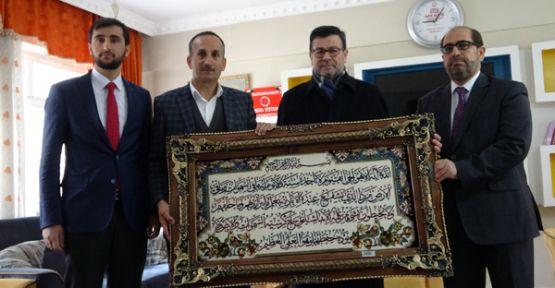 Diyanet İşleri Başkan Yardımcısı Muslu'dan Şemdinli ziyareti