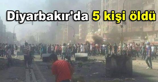 Diyarbakır'da 5 kişi öldü