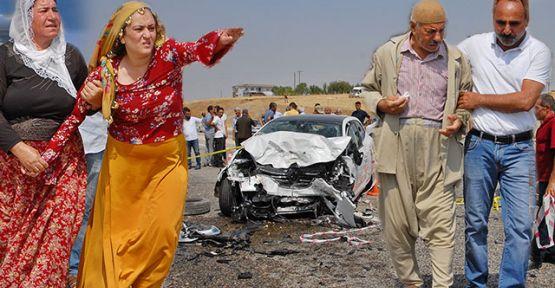 Diyarbakır'da zincirleme kaza: 3 ölü, 7 yaralı
