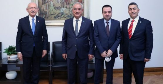 DSP'den CHP'ye seçim kanunu ziyareti