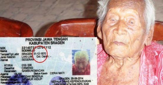 'Dünyanın en yaşlı insanı' Gotho, yaşamını yitirdi