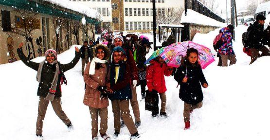 Eğitime kar engeli! İşte okulların tatil edildiği il ve ilçeler