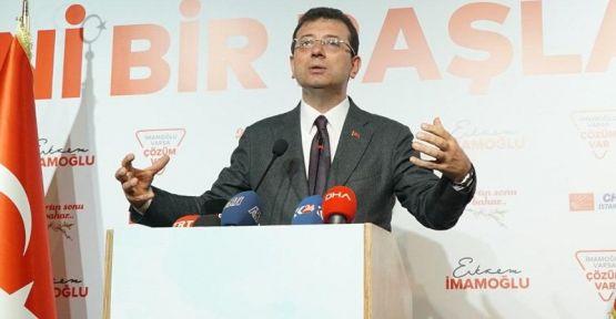 Ekrem İmamoğlu: Bir parti kazanmadı, Türkiye kazandı