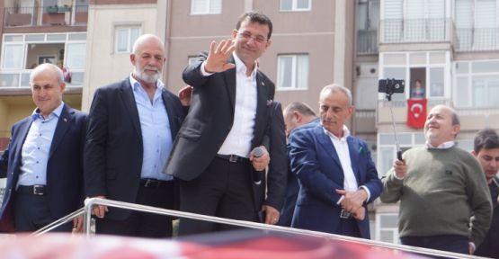 Ekrem İmamoğlu: 'Kürt de Türk de bu toplumun teminatı'