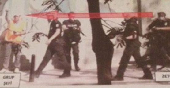 Emniyet biber gazı fişeğiyle göz çıkaran polis şefini tanımıyormuş!