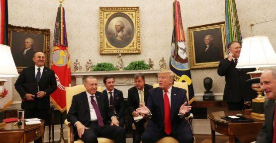 Erdoğan, ABD'li senatörlerle görüştü