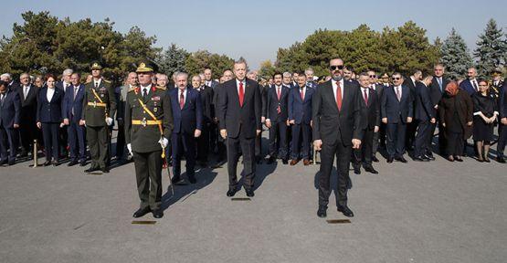 Erdoğan Anıtkabir'de Kılıçdaroğlu'nu pas geçti