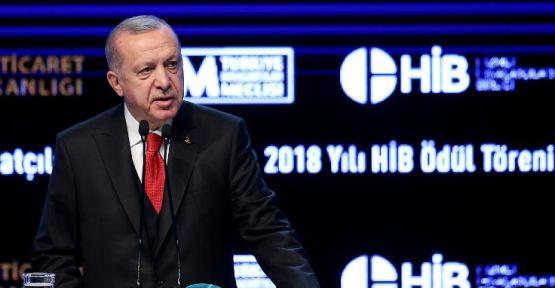 Erdoğan: Biz bu Kanal İstanbul'u yapacağız