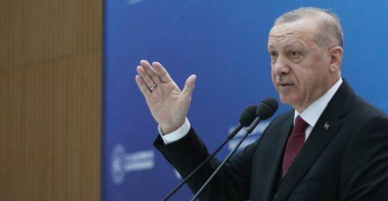 Erdoğan: Böyle bir sanal dünyaya teslim olmayacağız