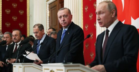 Erdoğan: Bu gece yarısı itibariyle ateşkes yürürlüğe girecek