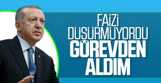 Erdoğan: Çetinkaya'ya 'Faizleri indir' dedik, gerekeni yapmadı