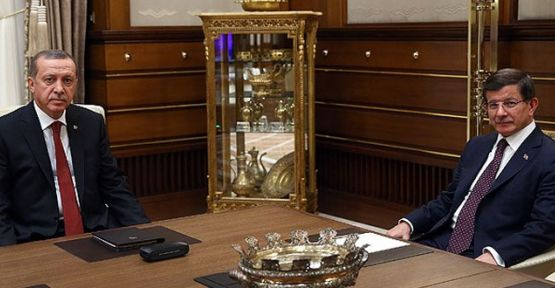 Erdoğan-Davutoğlu görüşmesi başladı