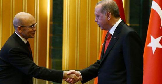 'Erdoğan, Mehmet Şimşek'le görüştü'