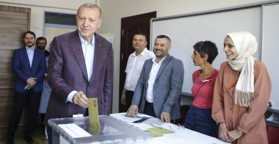 Erdoğan: Seçim bu şekilde yapılmamalıydı