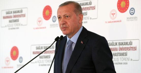 Erdoğan: Temizlik, maske, mesafe, yani TMM