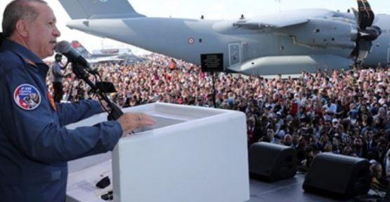 Erdoğan'dan AVM'lere: Takkeleri değişiriz