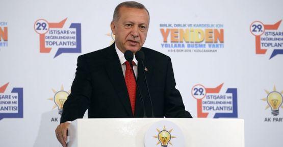 Erdoğan'dan 'Fırat'ın doğusu' açıklaması: Talimatları verdik