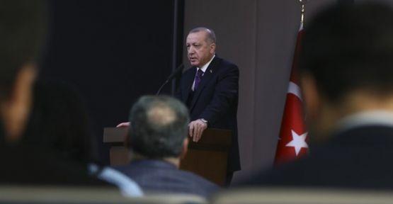 Erdoğan'dan Fox TV muhabirine tepki