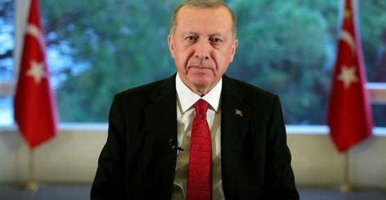 Erdoğan'dan vatandaşlara 'evde kal' çağrısı