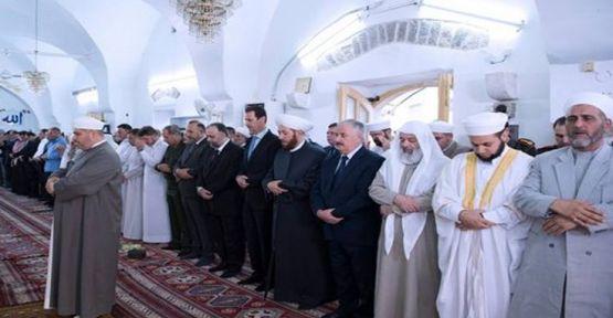 Esad bayram için Şam'dan çıktı