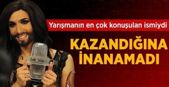 Eurovision'u, En Çok Tartışılan İsim Conchita Wurst Kazandı!