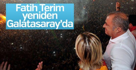 Fatih Terim, yeniden Galatasaray'da!