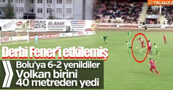 Fenerbahçe, Boluspor'a 6-2 yenildi