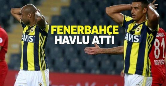 Fenerbahçe Ziraat Türkiye Kupasından elendi