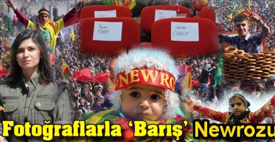 Fotoğraflarla Diyarbakır'daki tarihi Newroz
