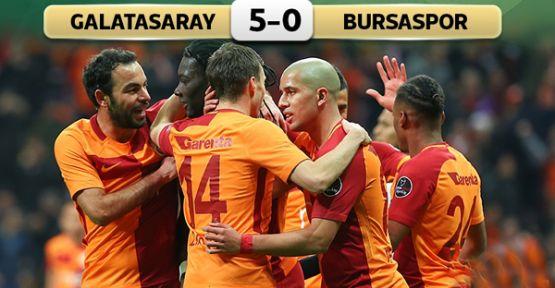 Galatasaray: 5 - Bursaspor: 0